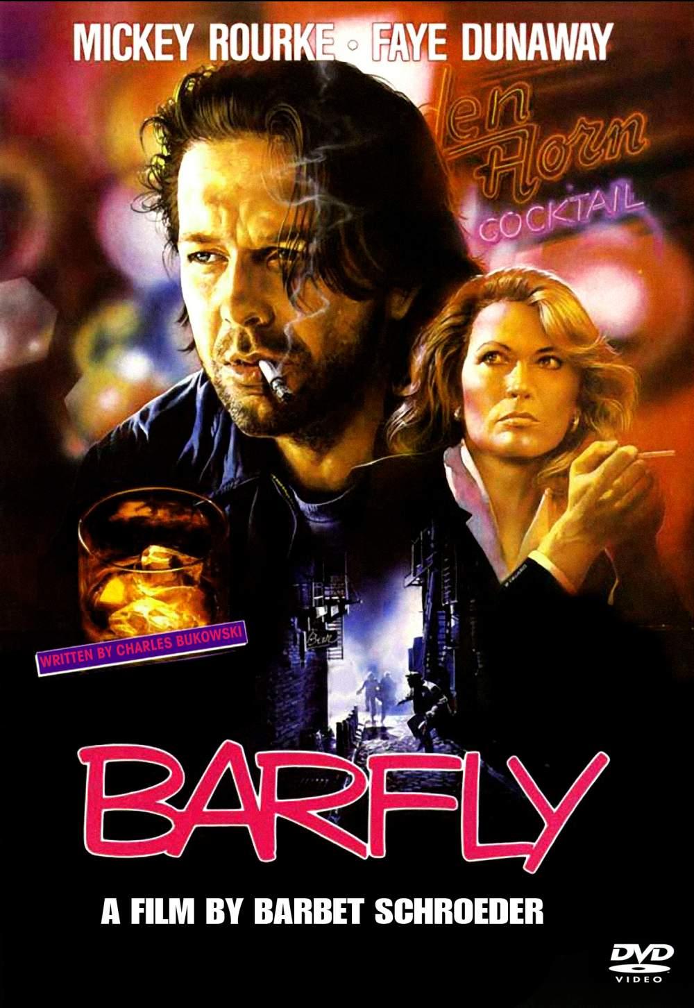 Barfly-videotallennekansi
