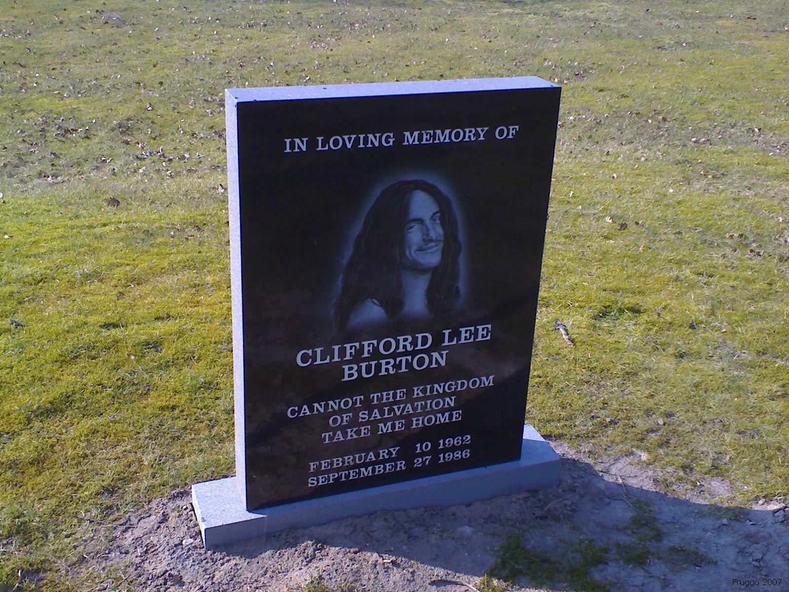 cliff-burton-grave