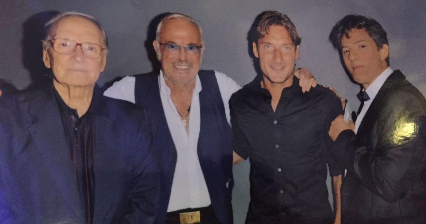 Morricone, Califano, Totti e Fiorello